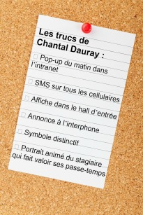 Trucs Chantal Dauray