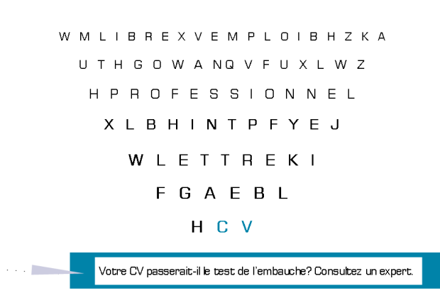 TEST DE VUE CV